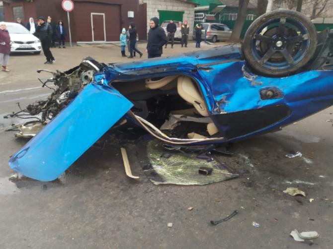 В Брянске пострадал 24-летний водитель в ДТП на Карачижской
