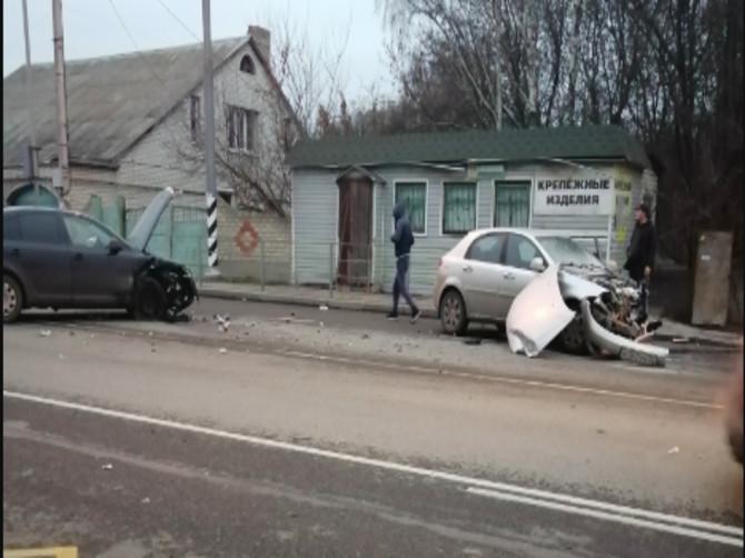 В Брянске у поворота на Антоновку произошло страшное ДТП