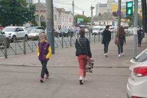 Брянцы назвали «самый тупой» светофор для пешеходов