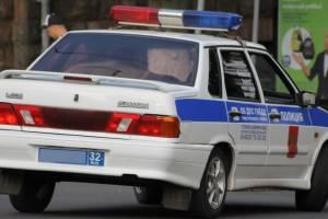 За неделю в Брянске задержали 25 пьяных водителей