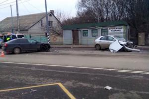 Крупную аварию под Брянском устроила автоледи