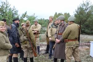 Под Клинцами прошла реконструкция боя времён Великой Отечественной войны