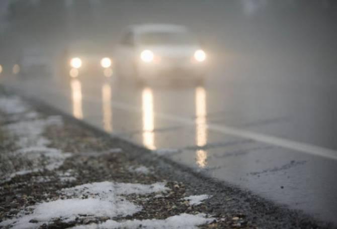 Брянских автомобилистов предупредили о тумане и гололедице