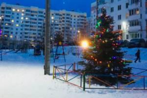 В центре Брянска нарядили дворы