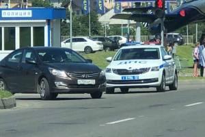 В Брянске полиция оцепила ТРЦ «Аэропарк»