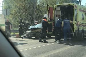 Последствия ДТП под Брянском сняли на видео