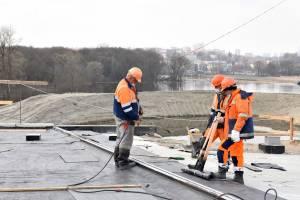 В Брянске новая дорога-дамба выдержала испытание первым разливом