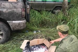 Брянские пограничники устроили ночную погоню за сигаретными контрабандистами