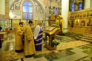 В Брянске почтили память благоверного князя Александра Невского