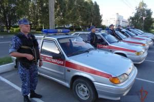 Безопасность брянских школьников 1 сентября обеспечат 100 росгвардейцев