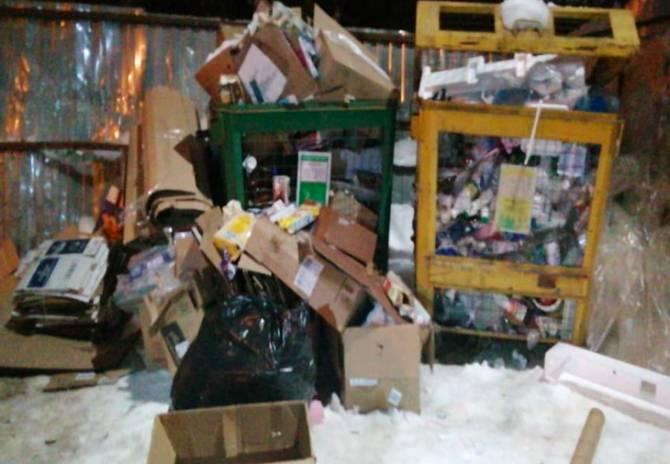 В Брянске на новогодних каникулах мусоровозы начнут работать в усиленном режиме
