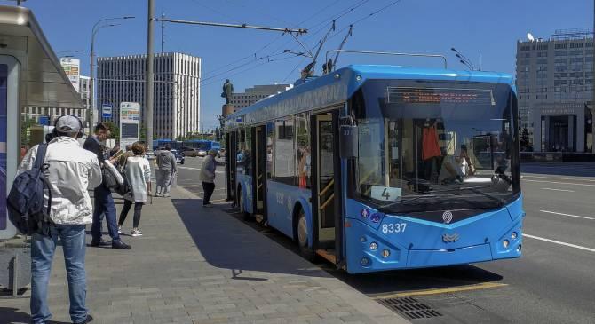Москва почти полностью отказалась от троллейбусов
