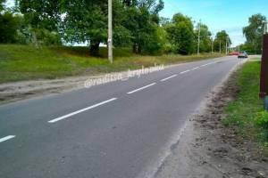На главной дороге Радицы-Крыловки впервые появится тротуар