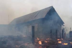 Под Мглином два часа тушили крупный пожар