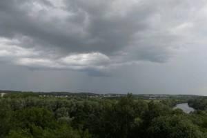 На Брянщине во вторник ожидается дождь с грозой