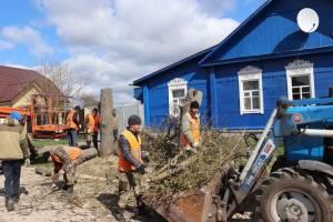 В Севске начали ремонтировать дорогу на Урицкого