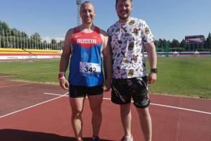 Брянец стал чемпионом России по легкой атлетике среди слабовидящих спортсменов