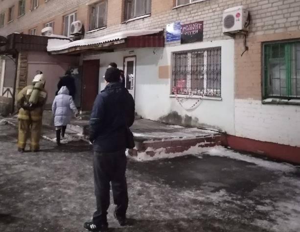 В брянском общежитии загорелся электрощиток