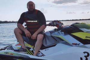 В Брянской области утонул известный бизнесмен и аквабайкер