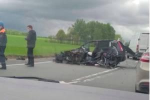 Под Почепом в трагическом ДТП погиб 45-летний водитель