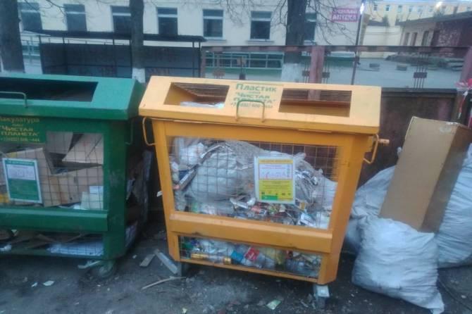 Брянцев призвали к раздельному сбору мусора