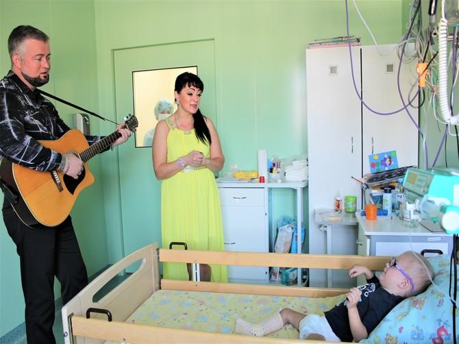 В Брянске пациентов онкогематологии «лечат» музыкотерапией