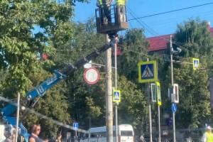 В Фокинском районе Брянска установили камеру на стоп-линию