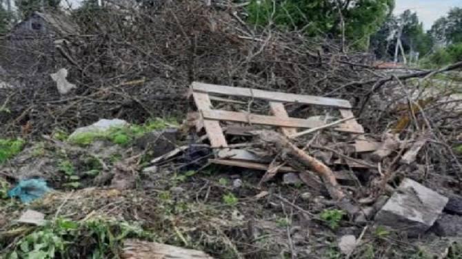 В Почепе наконец убрали свалку у детского сада
