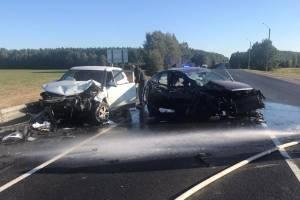 В жутком ДТП под Брасово водитель Hyundai получил травму паха