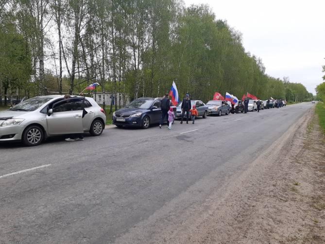 Брянским водителям власти запретили отметить 9 мая патриотической акцией