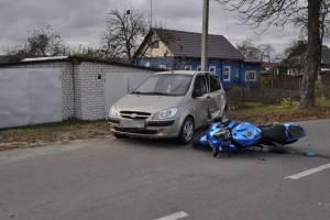 В Жуковке насмерть разбился 35-летний байкер