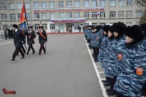 Брянские росгвардейцы почтили память Валерия Шкурного