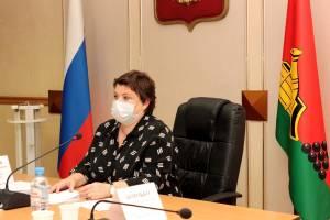 Глава Брянска Марина Дбар объяснила цели работы чиновников и депутатов