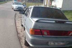 В климовском селе Могилевцы поймали пьяного 37-летнего водителя ВАЗ