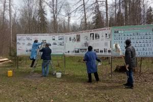 В Брянске очистили от мусора стоянку Виноградова