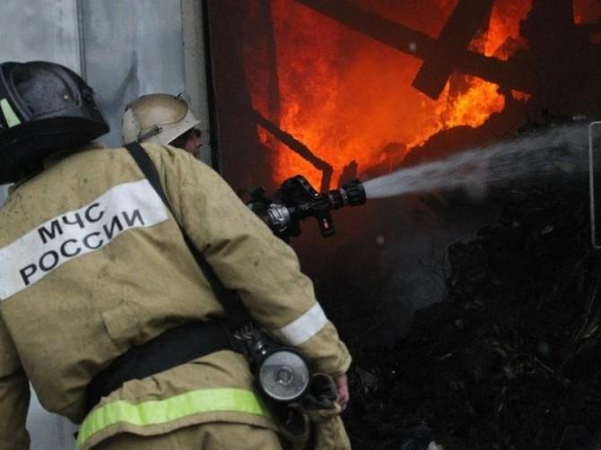При пожаре в Рогнединском районе погибли двое мужчин