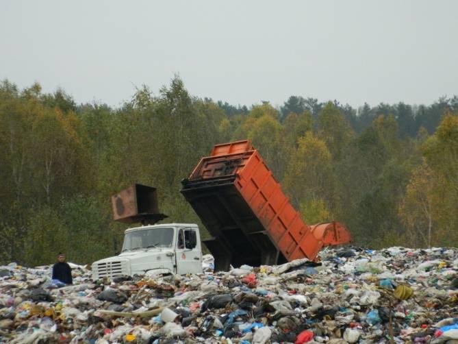 Новозыбковские чиновники вернули контроль над мусорным полигоном «Ратово»