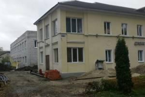 Брянска продолжается строительство нового корпуса ДШИ №3