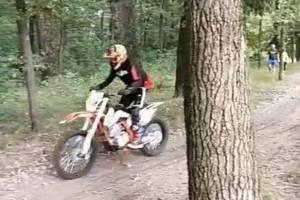 В Брянске наказали неугомонных байкеров за бешеные гонки возле санатория