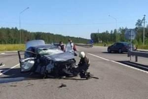 Брянский водитель устроил серьезную аварию в Белоруссии