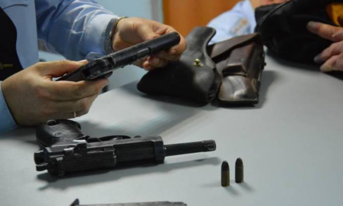 Брянск оказался лидером по количеству нелегального оружия