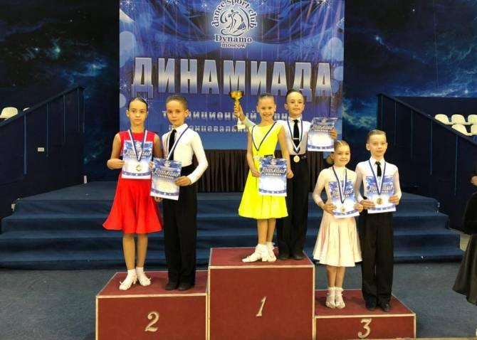 Брянские танцоры привезли два золотых кубка с «Динамиады 2020»
