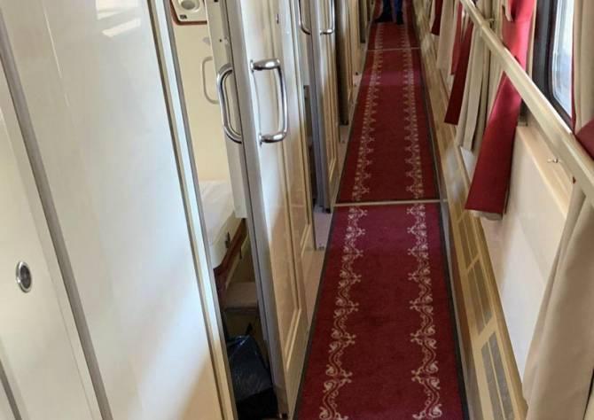 Из вагонов брянских поездов уберут ковровые дорожки