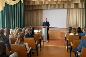 Брянские следователи провели в школах уроки безопасного поведения