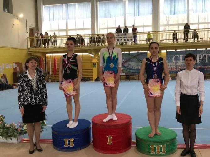 Брянские гимнасты отличились на всероссийских соревнованиях