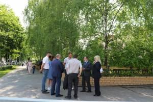 В Брянске на улице Димитрова обустроят пешеходную зону