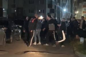 На Станке Димитрова в Брянске произошла массовая драка