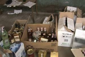 На Брянщине полицейские нашли 5 тысяч пачек «левых» сигарет