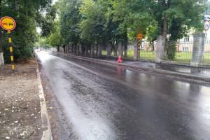 В Брянске на сутки закроют движение транспорта по улице Горького