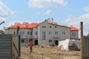 В Суземке к концу лета завершат строительство детсада